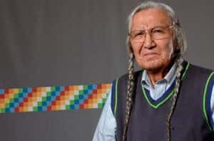 Honouring Dr. Kiaux (Russell Jim), Yakama knowledge scholar and cultural guardian