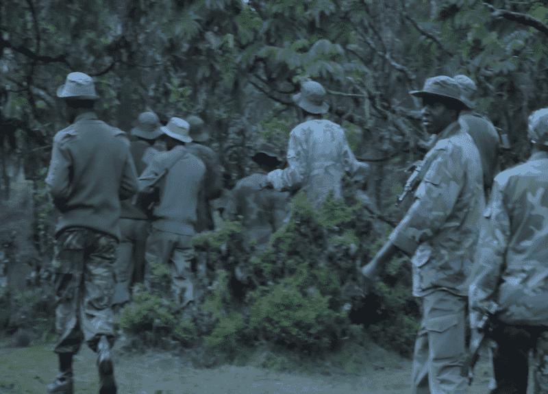 Sengwer people eviction - Kenya's Army