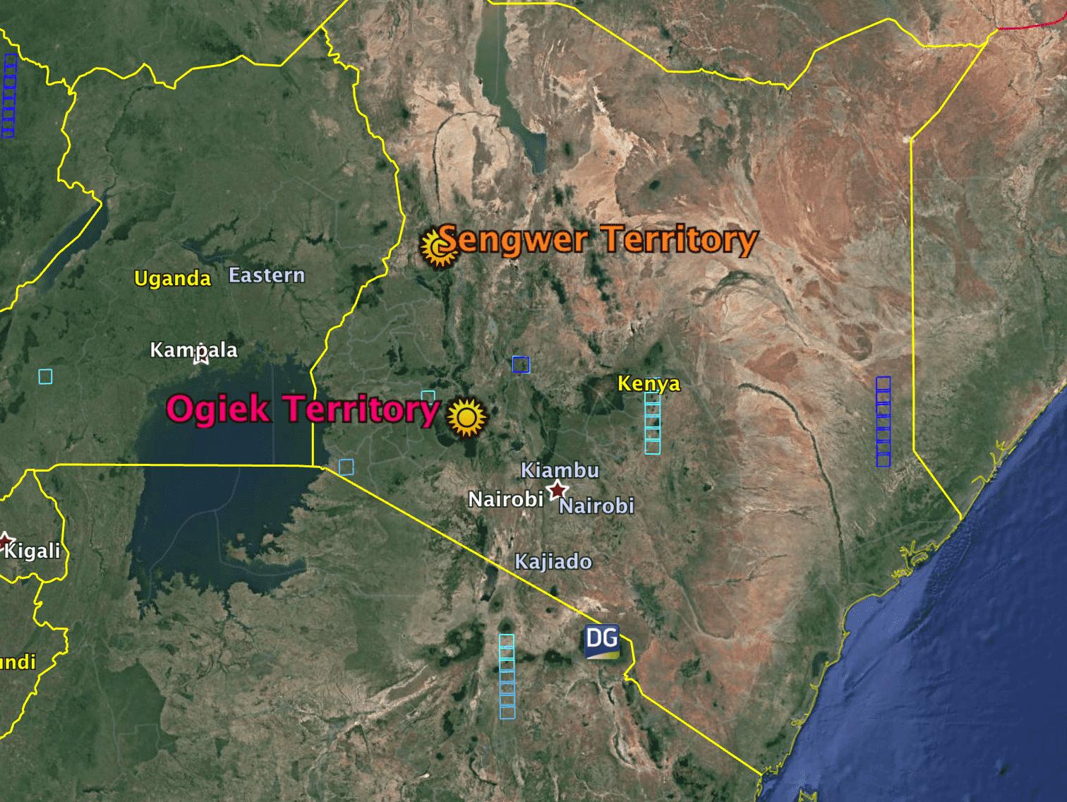 Sengwer & Ogiek Territory 2018-05-19