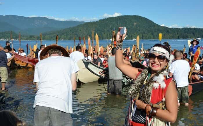 Many People One Canoe