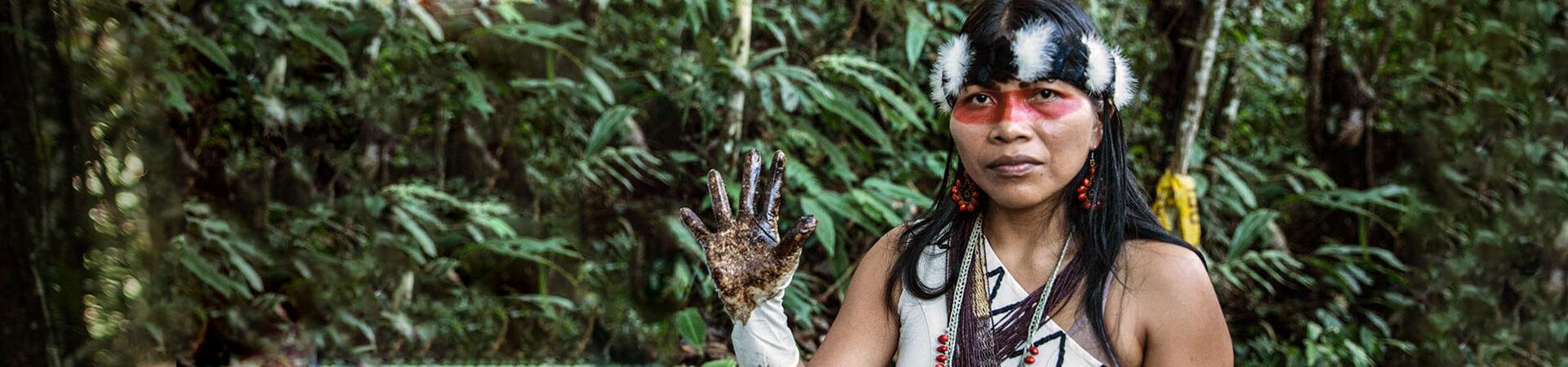 Amazonian Nemonte Nenquimo