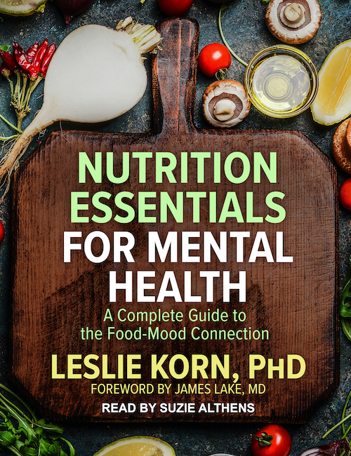 Audiobook<br>Nutrition Essentials<br>for Mental Health
