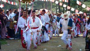 Otomí dancers