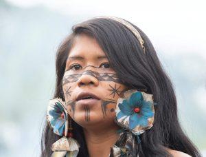 Brazilian native young woman